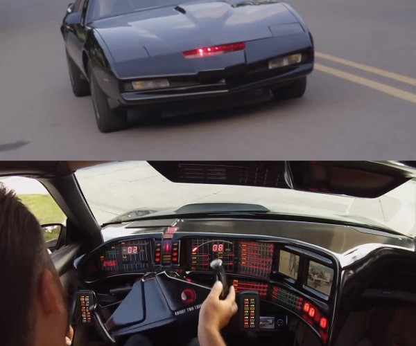 Guy Builds Knight Rider K.I.T.T. Replica: K.A.R.R. Better Watch out