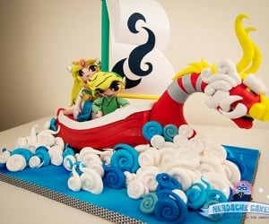 The Legend of Zelda: The Wind Waker: The Birthday Cake