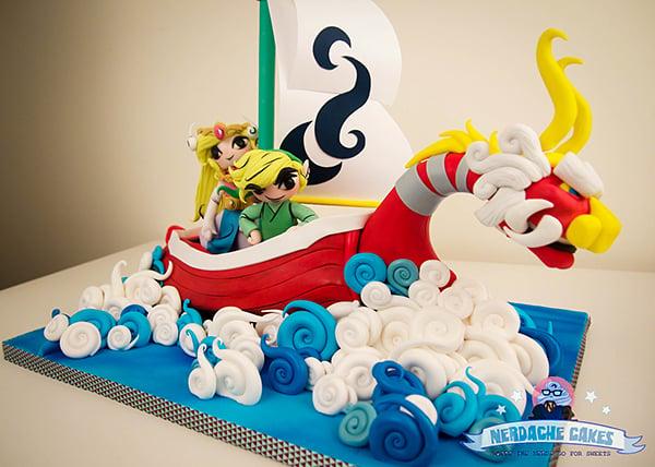 The Legend of Zelda: The Wind Waker: The Birthday Cake