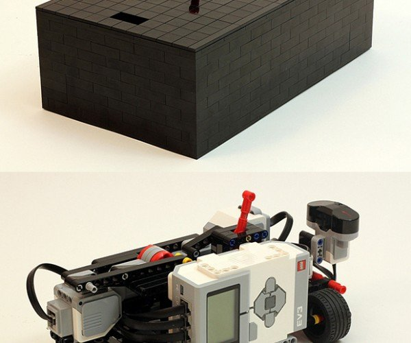 LEGO Useless Machine: Mindtroll