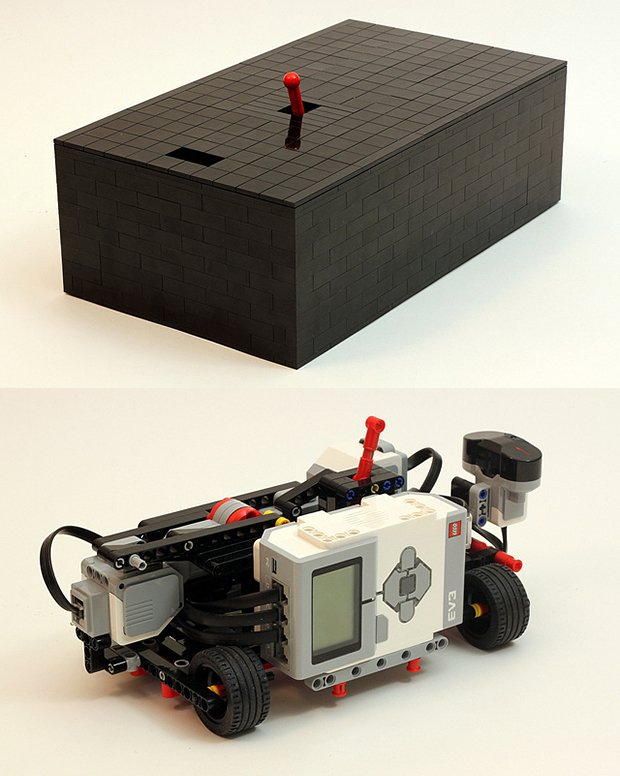 lego ultimate useless machine by Jason Allemann