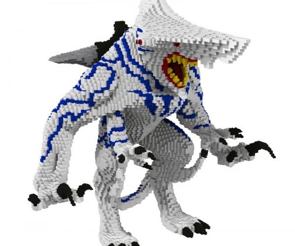 Pacific Rim LEGO Knifehead: LEGOKAIJU