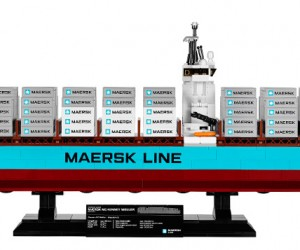 LEGO Announces World's Largest Ship in Kit Form: The Maersk Line Triple-E