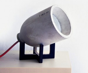 Light '0' Concrete Lamp: Definitely Not Light as a Feather