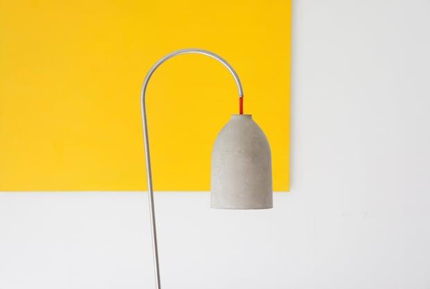 lightzero lamp 220plus concrete yellow photo