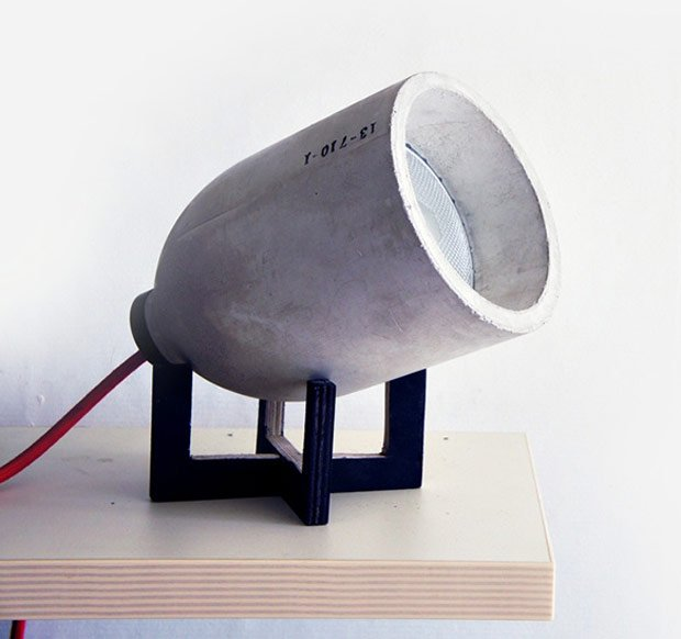 lightzero lamp 220plus concrete