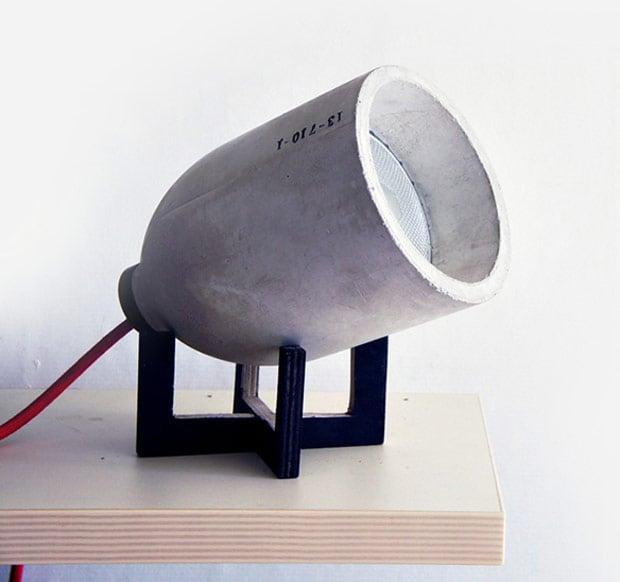 lightzero lamp 220plus concrete photo