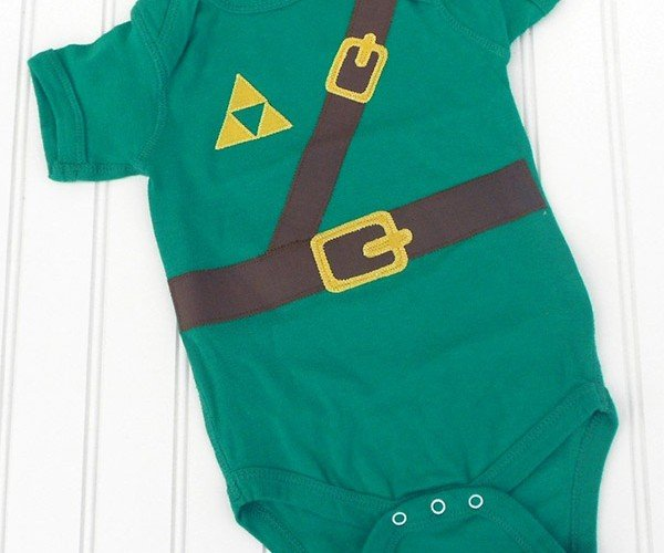 Legend of Zelda Link Onesie, It's Dangerous to Grow Alone, Take This