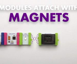 littleBits Modular Magnetic Electronics Kits: No Solder, No Problem