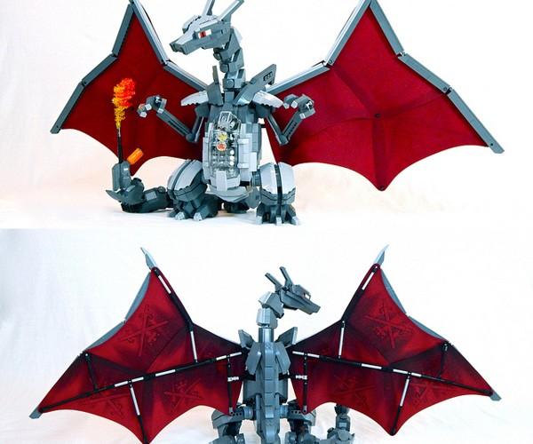 LEGO Mecha Charizard: Poké Kaiju