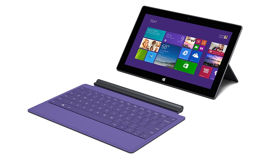 Microsoft Surface 2 & Surface Pro 2 Tablets Have Windows 8 ...