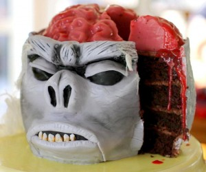 Indiana Jones Monkey Brain Cake: Bakers of the Lost Ark