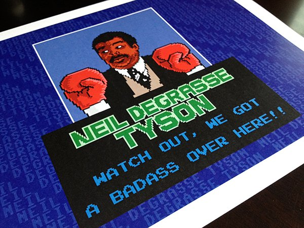 neil degrasse tyson punch out by pauline acalin 2