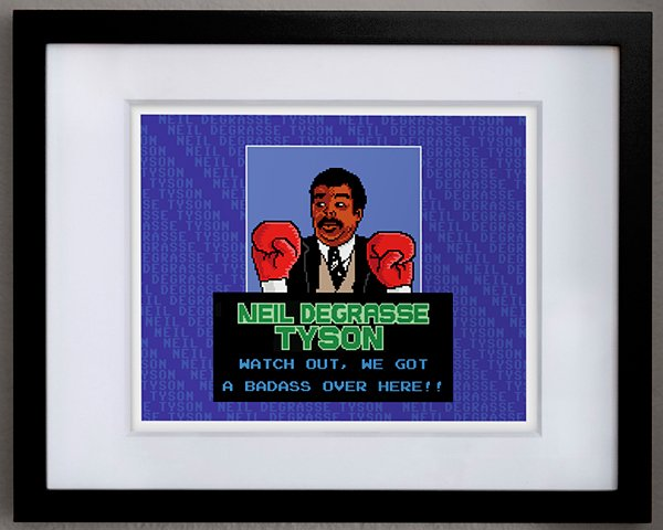 neil degrasse tyson punch out by pauline acalin