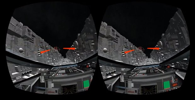 Star Wars Death Star Trench Run on the Oculus Rift: Use the Headset Luke