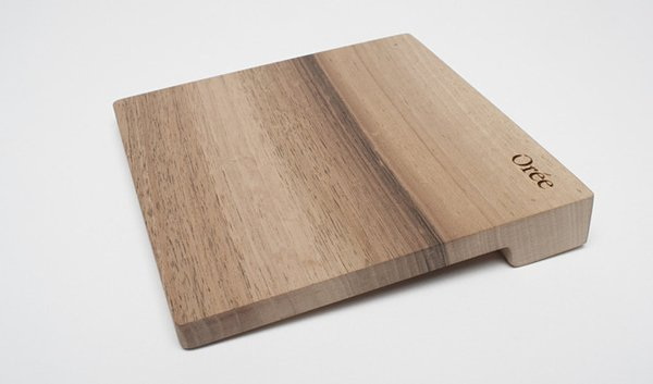 Orée Touch Slab Wooden Trackpad: Gestures Come Naturally