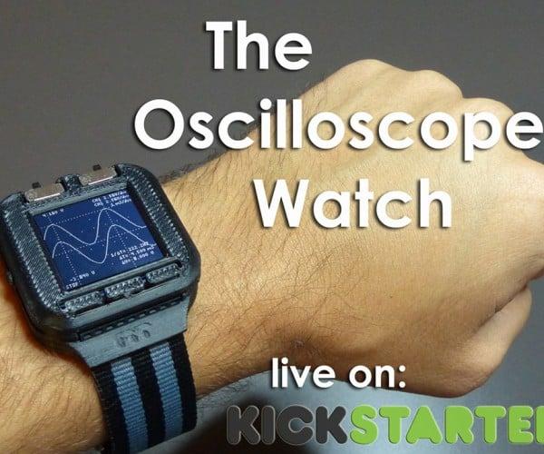 Oscilloscope Watch Outgeeks Calculator Watches
