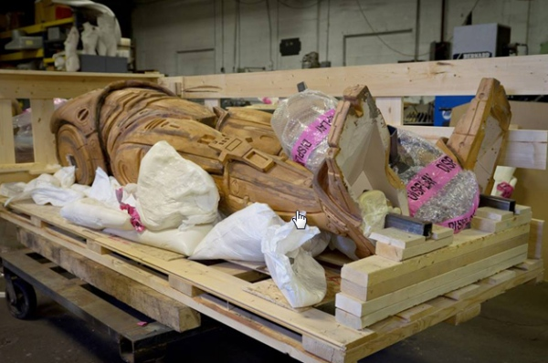 Robocop Statue Continues Its Journey to Detroit