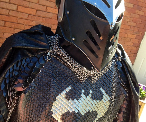 If Batman Wore Scalemaille