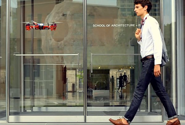 MIT SkyCall Uses Drones as Tour Guides