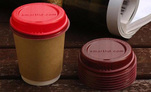 Smart Lids Warn You When Your Coffee's Too Hot