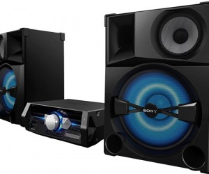 Sony SHAKE-5 Stereo Ready to Rattle Windows with 2400 Watts of Power