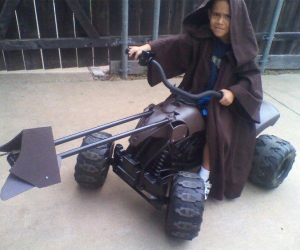Power Wheels Star Wars Speeder Bike: Awesomendor!