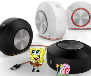 JBL Pebbles USB Speakers are Perfect for SpongeBob SquarePants