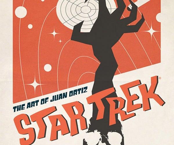 Win an Awesome Star Trek Poster Art Book by Juan Ortiz