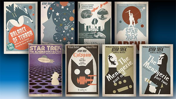 star trek posters by juan ortiz 1