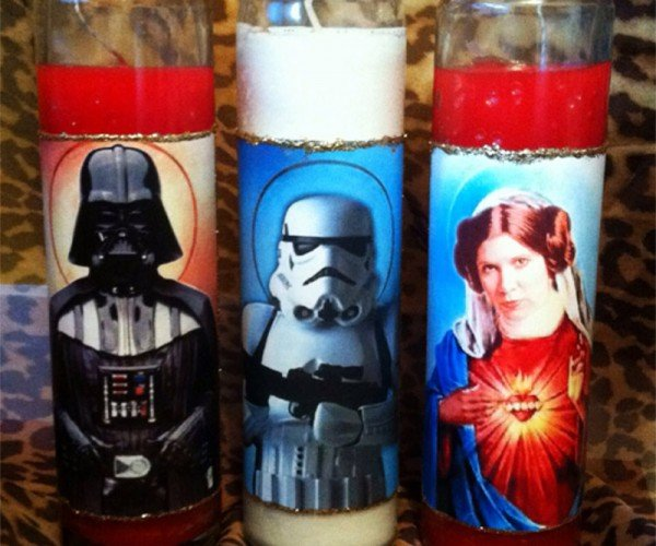 Star Wars Prayer Candles: The Light-up Side of the Force