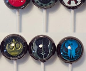 Star Wars Rebel Alliance & Galactic Empire Lollipops: The Sweet Side of the Force