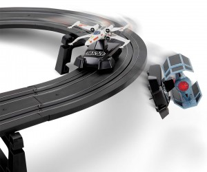 Star Wars Battling Fighters Slot Car Set Lets You Relive the Death Star Trench Scene