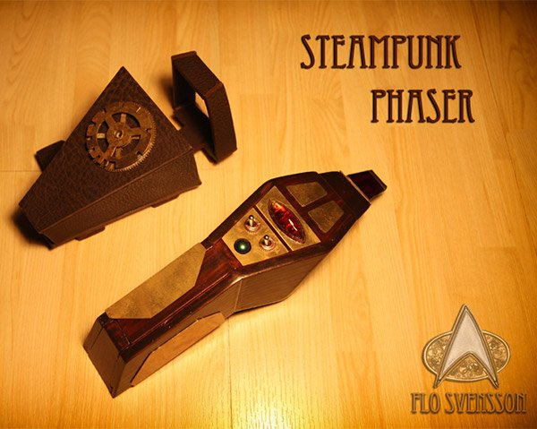 steampunk phaser