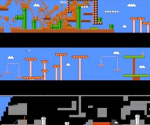 974 People Play Super Mario Bros. at the Same Time