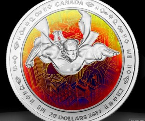 Superman 75th Anniversary Coins from the Canadian Mint: It's a Bird, It's a Coin!