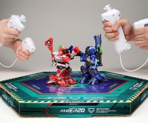TakaraTomy BattroBorg 4G Boxing Robots: Rock 'em Sock 'em for the 21st Century