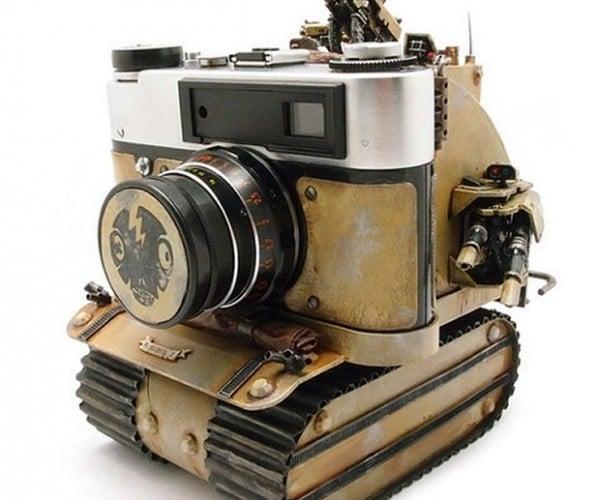 Make Art, Not War with the Soviet Rumble Tank Camera