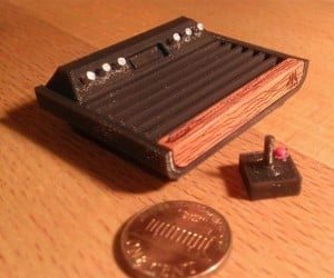 Got a 3D Printer? Print This Tiny Atari 2600 and NES