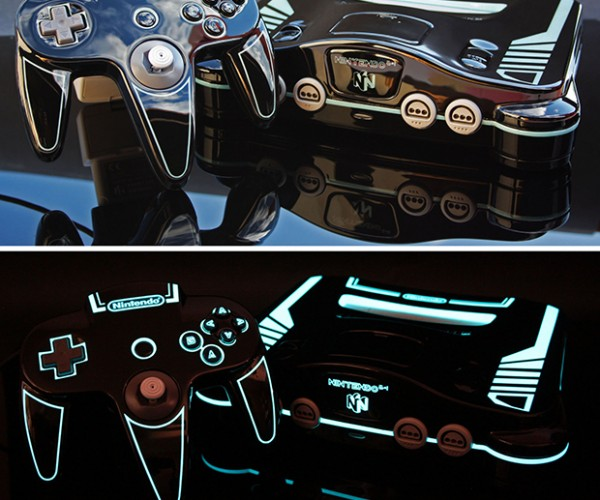 TRON: Legacy Nintendo 64 Case Mod: Project Virtual Reality