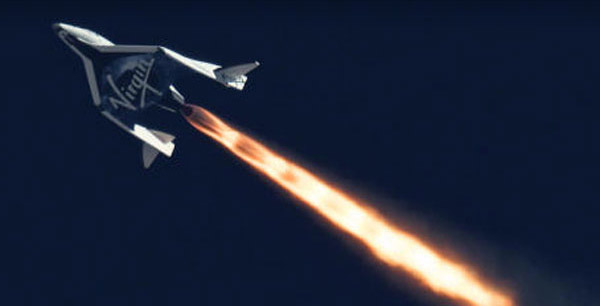 virgin galactic spaceship two 1