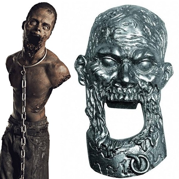 walking dead bottle opener
