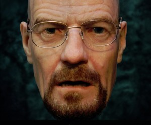 Breaking Bald: Hyper-Realistic Walter White Mask