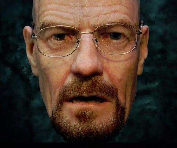 Breaking Bald: Hyper-Realistic Walter White Mask