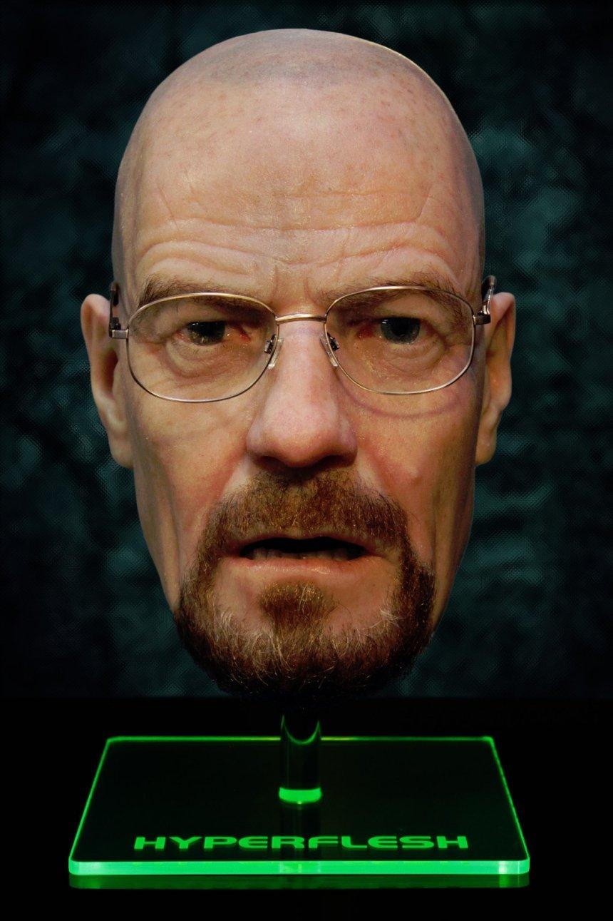 Breaking Bald: Hyper-Realistic Walter White Mask - Technabob