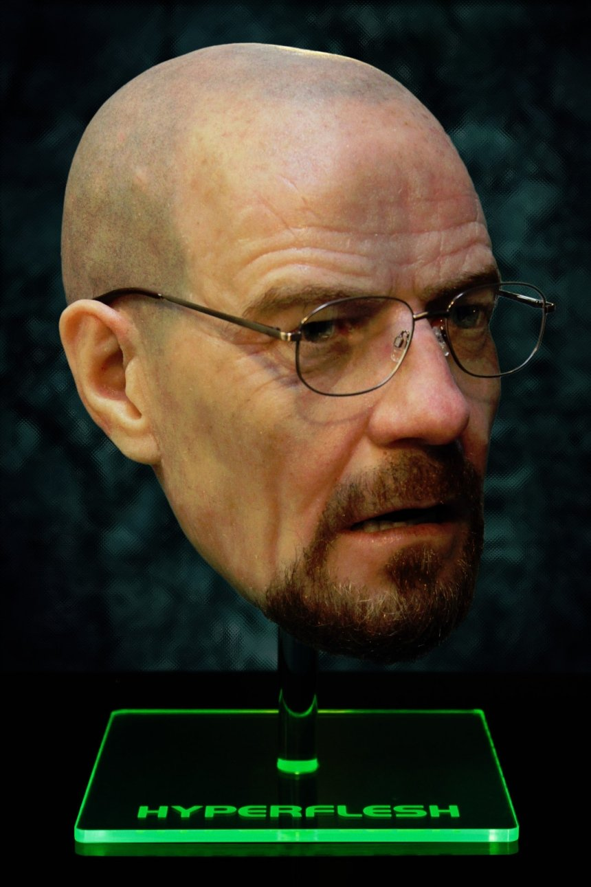 Breaking Bald Hyper Realistic Walter White Mask Technabob