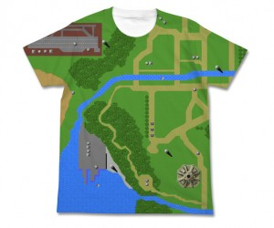 Xevious T-Shirt: If Only It Offered Vertical Scrolling