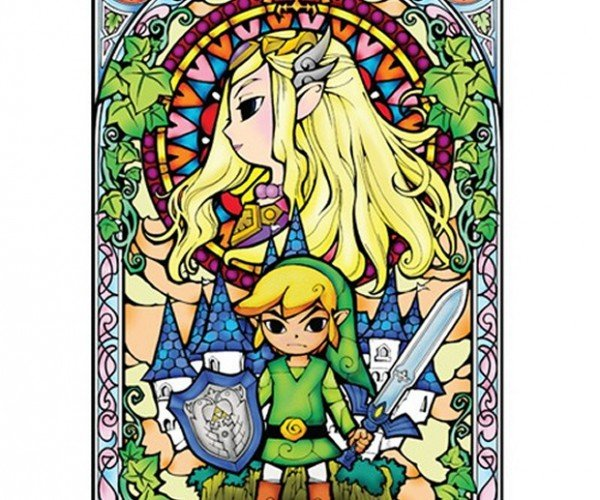 Zelda Stained Glass Wall Decals Rule! Even Hyrule!