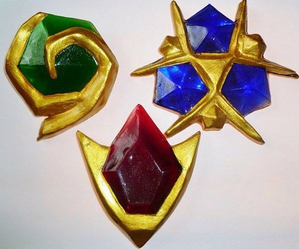 Zelda 3D Spiritual Stone Replicas Can't Be Bought with Rupees