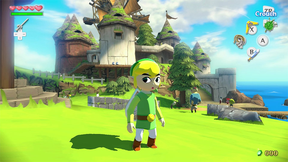 Nintendo Refreshes The Legend of Zelda: The Wind Waker in HD